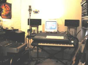 The Studio set up No 1