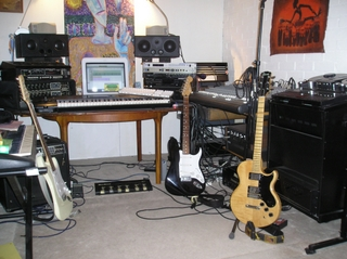 Three Guitars Studio set up No 2